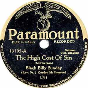 Black Billy Sunday - The High Cost Of Sin / Will You Spend Eternity In Hell? mp3